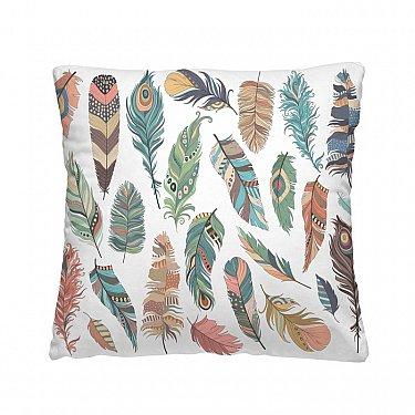 Декоративная подушка ПЕРЫШКИ