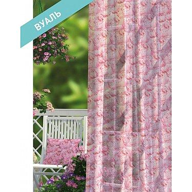 Комплект штор ПРОВАНС Вуаль Rose, розовый, 270 см