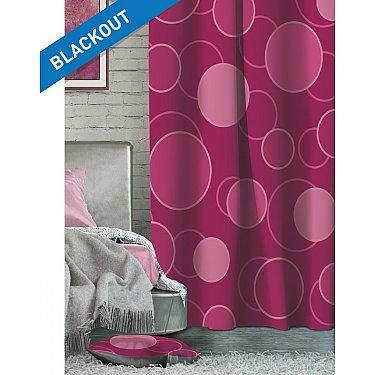 Шторы ЛОФТ Блэкаут Flash, фуксия, розовый, 270 см