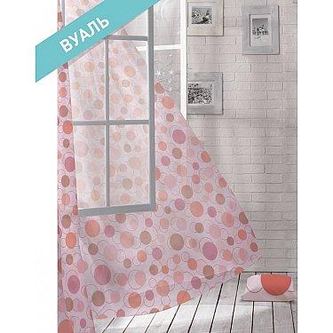 Комплект штор ЛОФТ Вуаль Flash, розовый, 270 см