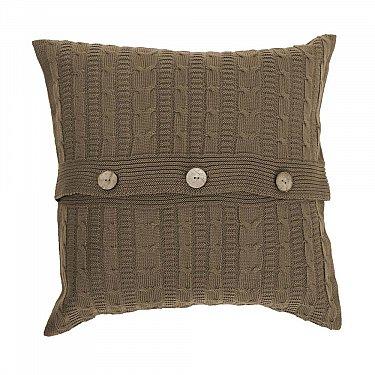 Подушка декоративная Sherlock (45х45), кофе