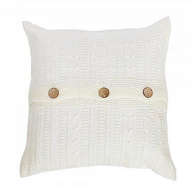 Подушка декоративная Sherlock (45х45), молочный