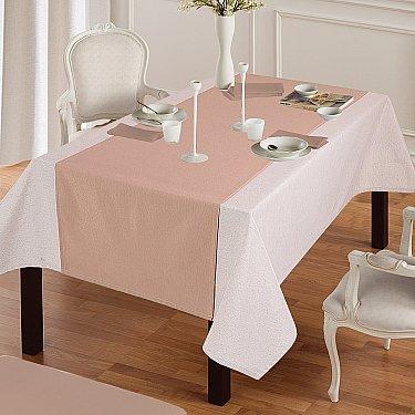 """Дорожка на стол """"Анита""""-3, коричневый"""