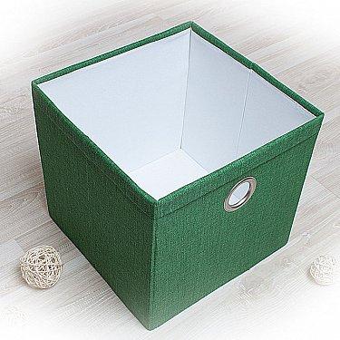 """Декоративная корзинка """"Фальсо-3"""", большая, зеленый"""