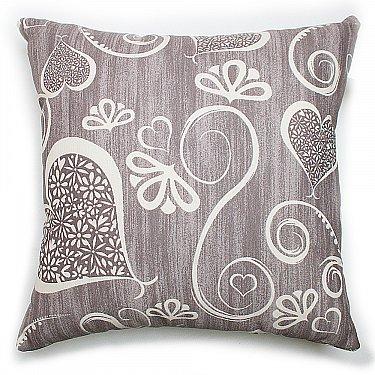 "Декоративная подушка ""Амур""-5, серый"