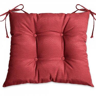 """Подушка для сидения """"Анита-люкс""""-10, красный"""