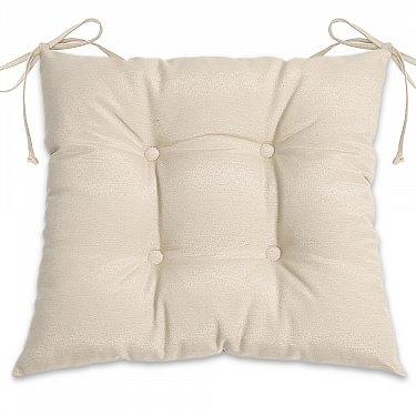 """Подушка для сидения """"Анита-люкс""""-1, молочный"""