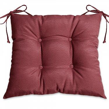 """Подушка для сидения """"Анита-люкс""""-5, бордовый"""