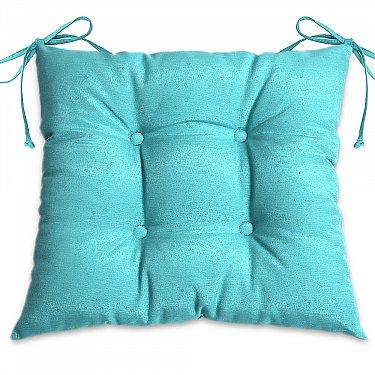 """Подушка для сидения """"Анита-люкс""""-9, бирюзовый"""