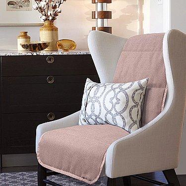 "Накидка на кресло ""Аделина"" - 3, коричневый"