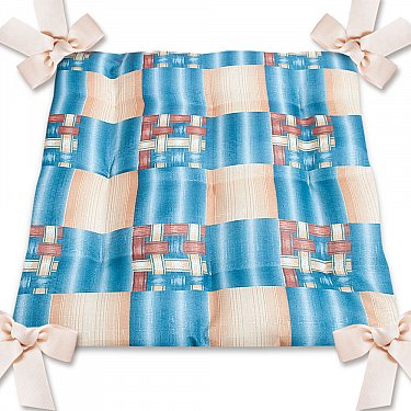 "Подушка на стул ""Ассорти"", дизайн 12"