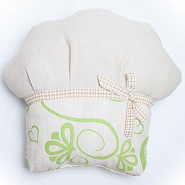 """Декоративная подушка """"Кекс-3"""", зеленый"""