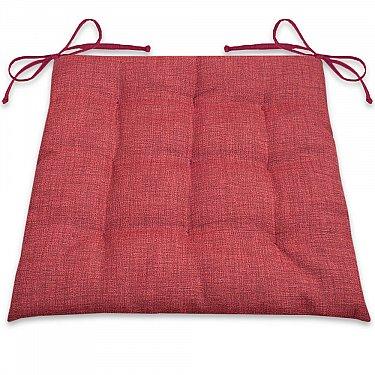 """Подушка для сидения """"Фальсо""""-1, бордовый"""