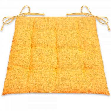 """Подушка для сидения """"Фальсо""""-4, желтый"""