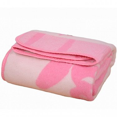 """Одеяло детское """"Умка ЛЮКС"""", белый, розовый, 100*140 см"""