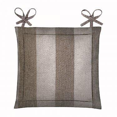"Подушка для стула ""Home&Style"" Зебра-шоколад"