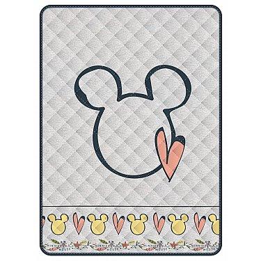 Покрывало Волшебная ночь Disney Minnie gray, 160*200 см