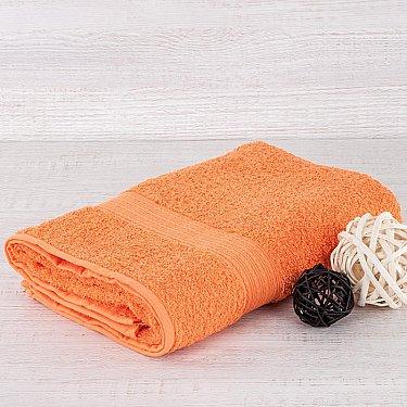 """Полотенце махровое """"Арк Байрамали"""" бордюр косичка, оранжевый"""