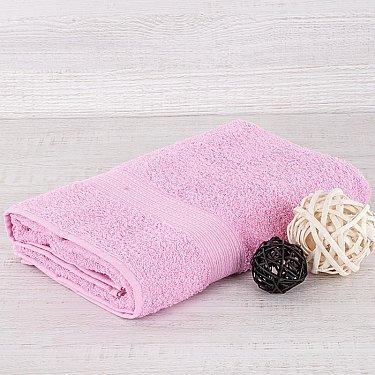 "Полотенце махровое ""Арк Байрамали"" бордюр косичка, розовый"