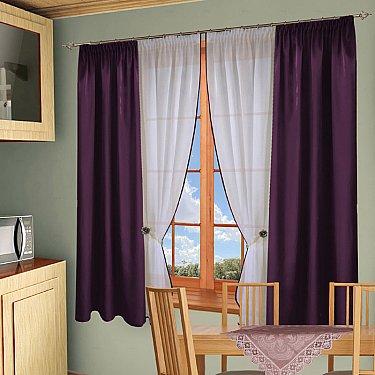 Комплект штор №054 Фиолетовый