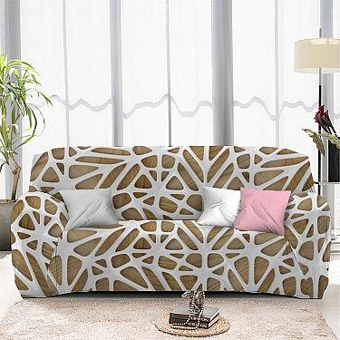 Чехол на диван одноместный ЧХТР069-13323, 90-140 см