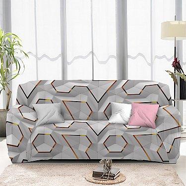 Чехол на диван одноместный ЧХТР069-13325, 90-140 см