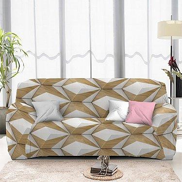 Чехол на диван одноместный ЧХТР069-13326, 90-140 см