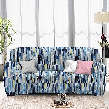 Чехол на диван четырехместный ЧХТР046-13367, 240-290 см
