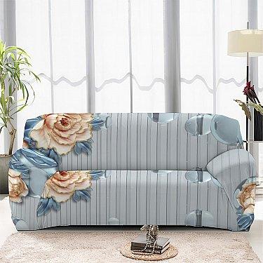 Чехол на диван четырехместный ЧХТР046-14617, 240-290 см