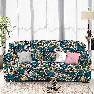 Чехол на диван четырехместный ЧХТР046-16888, 240-290 см