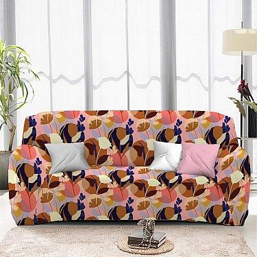 Чехол на диван одноместный ЧХТР069-16889, 90-140 см