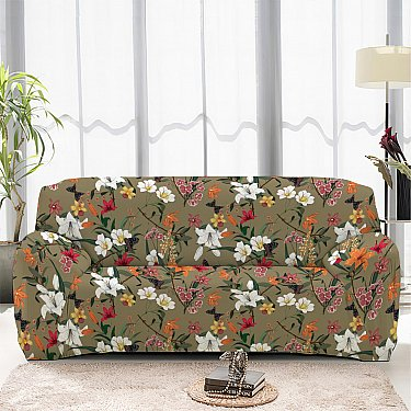 Чехол на диван четырехместный ЧХТР046-16890, 240-290 см