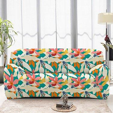 Чехол на диван одноместный ЧХТР069-16891, 90-140 см