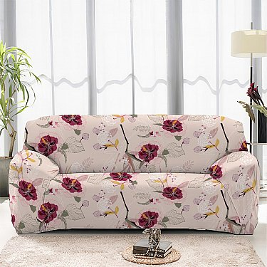 Чехол на диван четырехместный ЧХТР046-16901, 240-290 см