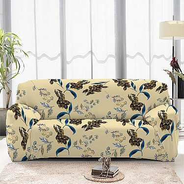 Чехол на диван четырехместный ЧХТР046-16908, 240-290 см