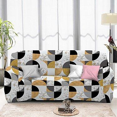 Чехол на диван четырехместный ЧХТР046-16912, 240-290 см