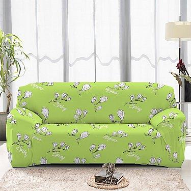 Чехол на диван одноместный ЧХТР069-16915, 90-140 см