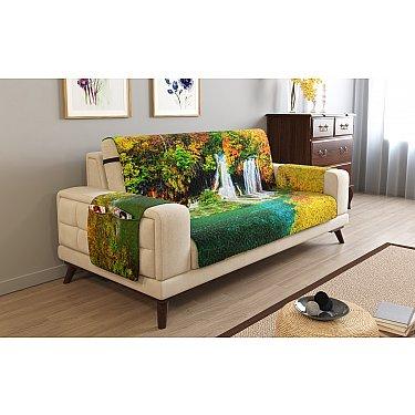 Накидка на диван с подлокотниками 00190
