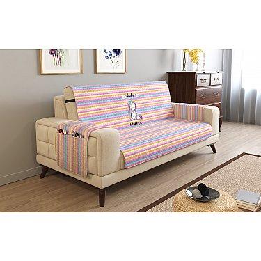 Накидка на диван с подлокотниками 12415