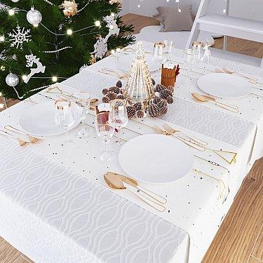 """Дорожка на стол """"Наш веселый Новый год"""", 40*140 см"""