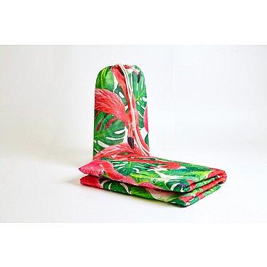 """Пляжное фотопокрывало """"Фламинго"""", 90*140 см"""