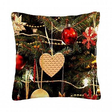 "Декоративная подушка ""Новогоднее сердце"""