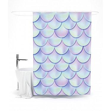 """Штора для ванной """"Перламутровые переливы"""", 145*180 см"""