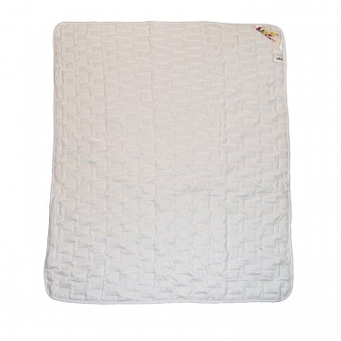 """Одеяло """"Озорной щенок"""", белый, легкое"""