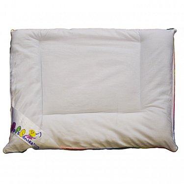 """Подушка """"Озорной щенок"""", плоская, белая, 40*60 см"""