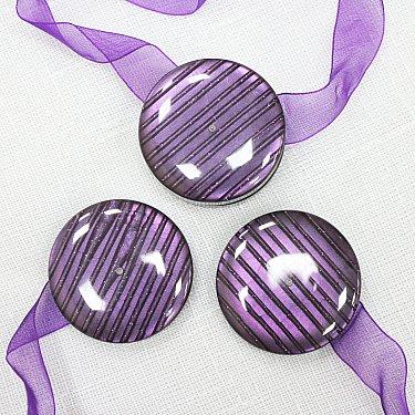 Подхваты магнитные M10-4, фиолетовый