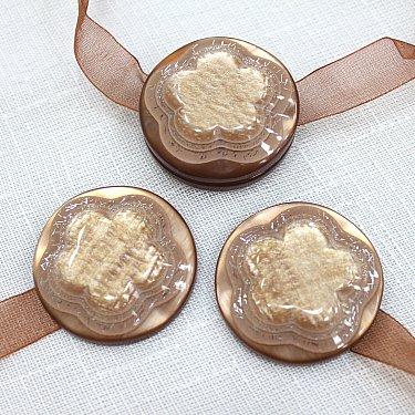 Подхваты магнитные M13-7, коричневый
