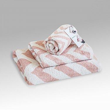 "Полотенце махровое ""Фрешлук"" Silver Pink, розовый"