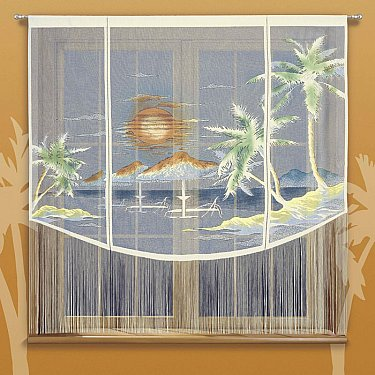 Японская штора цветная №623A