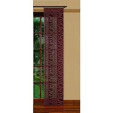 Японская штора №207350/50, темно-коричневый